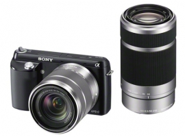 Sony Alpha NEXF3YB Digital Camera with 18-55mm & 55-210mm Lenses